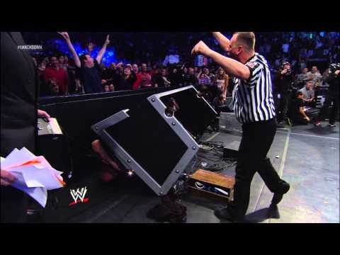 Alberto Del Rio vs. Big Show - World Heavyweight Title Match: SmackDown, Jan. 11, 2013