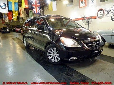 2006 Honda Odyssey Touring Edirect Motors Youtube