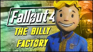 Fallout 4 Contraptions Workshop DLC | THE BILLY FACTORY!