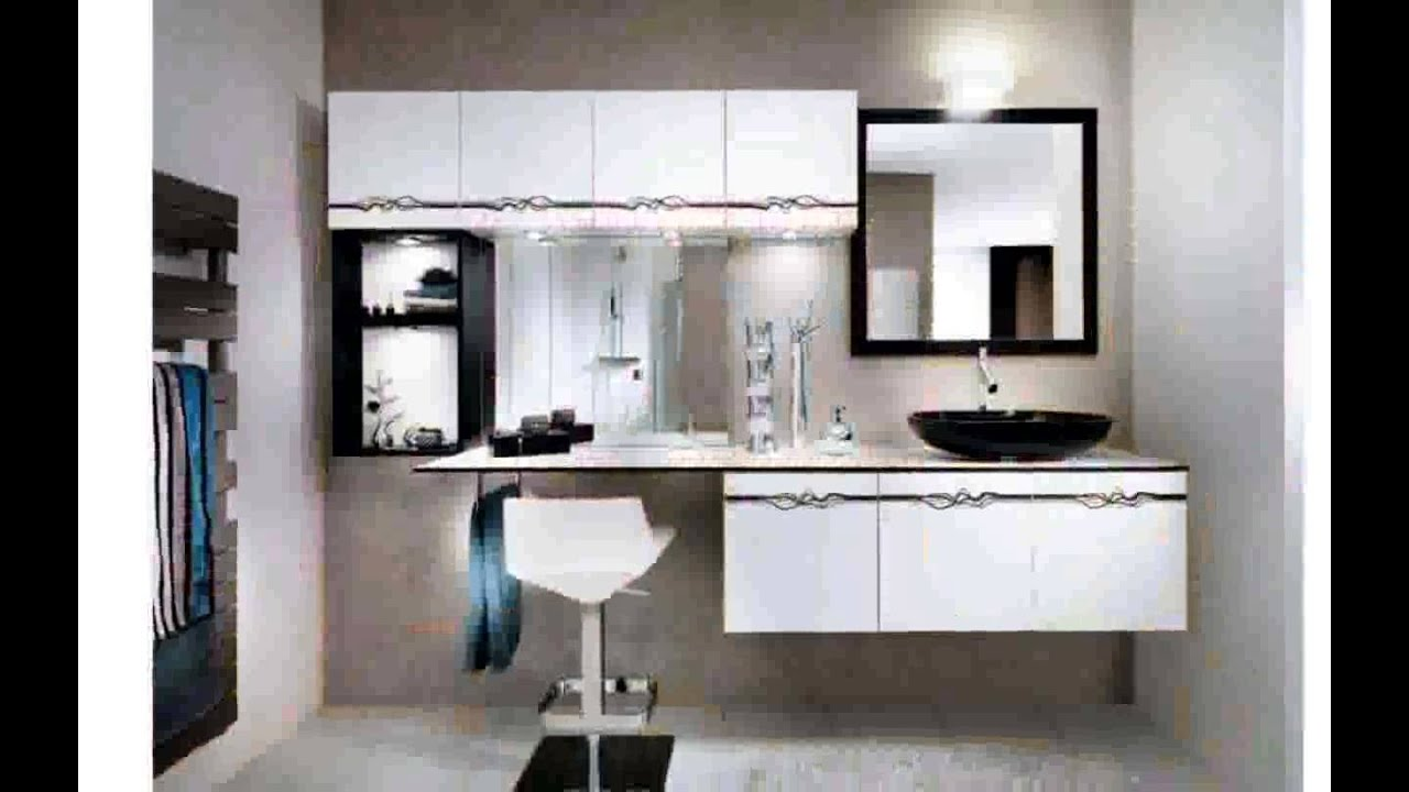 id e d coration petite salle de bain youtube. Black Bedroom Furniture Sets. Home Design Ideas