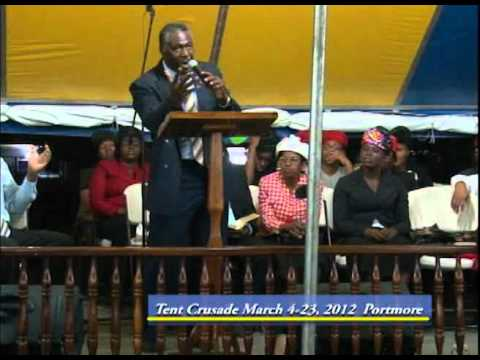 Tent Crusade March 112012 Preacher Assit. Pastor Victor Douse