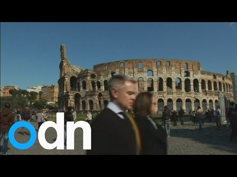 US tourists caught defacing Rome's Colosseum for selfies