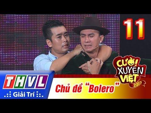 THVL | Cười xuyên Việt 2017 - Tập 11: Bảng tài năng - Chủ đề