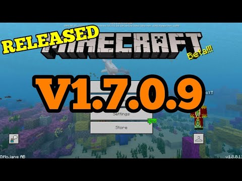 Minecraft PE 1.7.0.9 | MCPE 1.7.0.9 BUILD UPDATE RELEASED!! + FULL REVIEW!! (Pocket Edition)