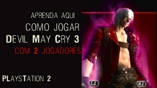 Devil May Cry 3  - Como jogar de dois no PlayStation 2 (Tutorial)