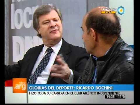 Vivo en Argentina - Deportes: Ricardo Bochini - 18-06-12