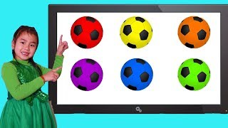 Download Song Jannie Plays and Learns Colors with Soccer Balls Free StafaMp3