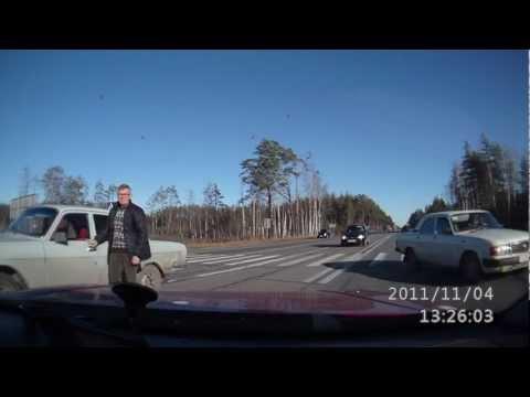 Авария на трассе М7 день! 13.25 04.11.2011