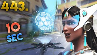 Fastest Shield Generator Ever..?! | Overwatch Daily Moments Ep.443 (Funny and Random Moments)
