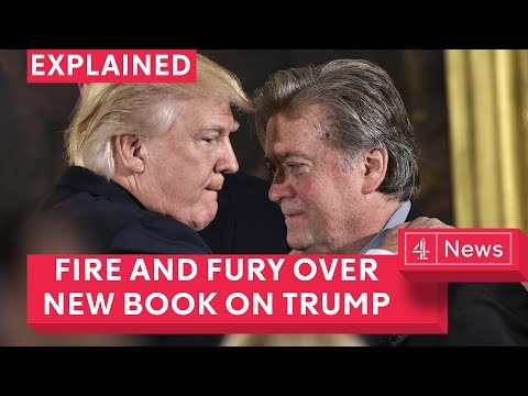 Fire and fury: Trump wants to ban book about his Presidency by Michael Wolff