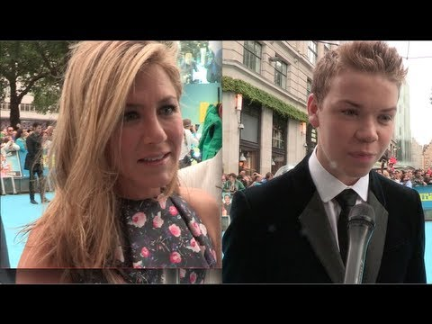 We're The Millers - UK Premiere Interviews Jennifer Aniston, Will Poulter & Rawson Marshall Thurber
