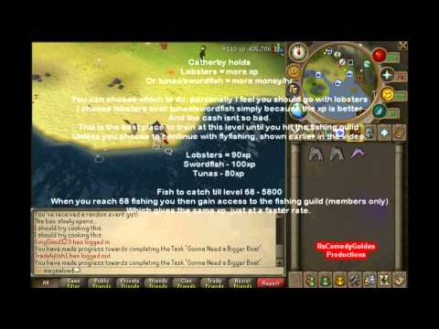 Runescape fishing guide 1-99 P2P 2012