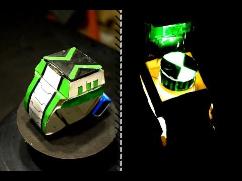Omnitrix (Omniverse ) -DIY  | How to make Ben 10 wrist watch from paper