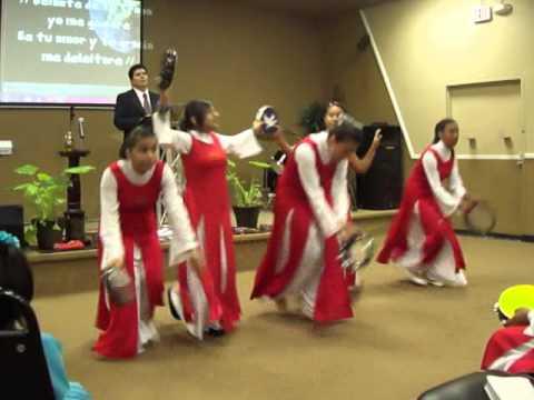 Toma El Pandero Danza Cristiana Cantare al senor - YouTube