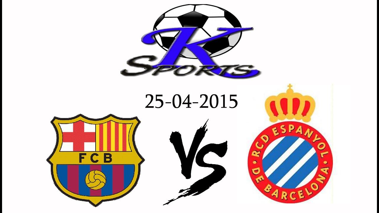 Barcelona Ecuador vs Espanyol Barcelona vs Espanyol