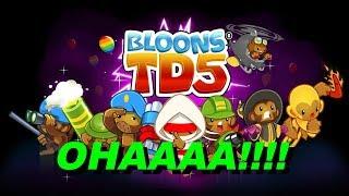 Bloons TD5 MAYMUN lar geliyooor !! #1