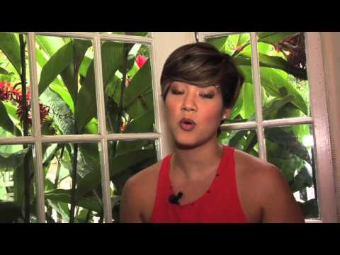 Tessanne Chin Winner of The Voice Talks to the youth of Jamaica.