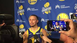 Steph Curry Postgame: Golden State Warriors @ Denver Nuggets [January 15, 2019]