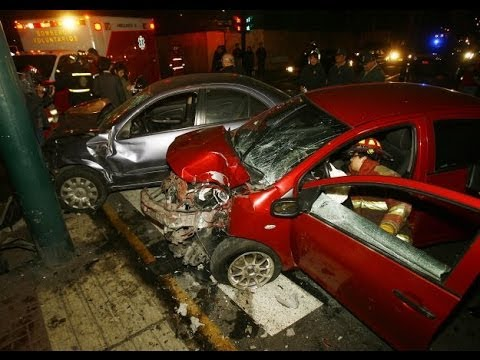 Compilado accidentes de transito 2014 #01