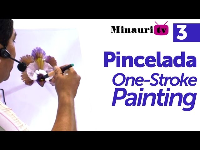 DIY - Pincelada / One stroke painting by Miguel Rincón (3/3)