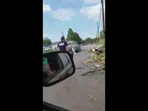 Kokomo, Indiana Tornado Damage 2016
