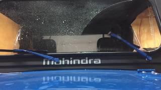 Manual Wipers on Mahindra Roxor