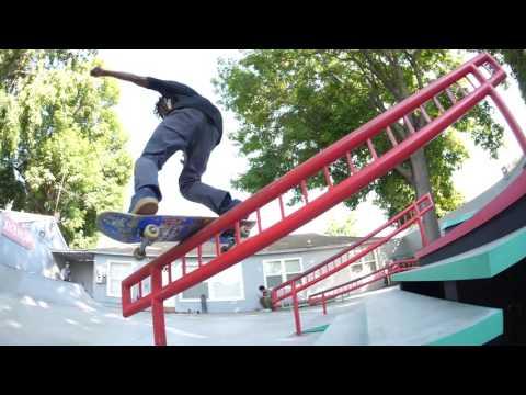 GH5 180fps skateboarding