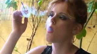 smoking girls in College