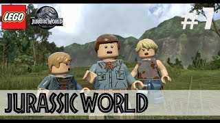 Lego Jurassic World #07 - Gallimimus Jagd + Strom anschalten [Lets Play]