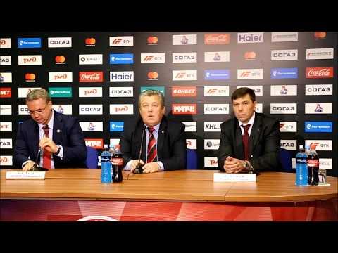 «Локомотив» - «Витязь»: пресс-конференция главных тренеров
