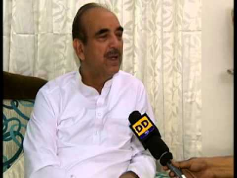 Interview with Ghulam Nabi Azad, Minister of Health and Family Welfare