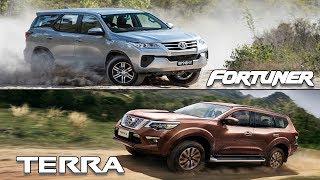 2018 Nissan Terra VS 2018 Toyota Fortuner