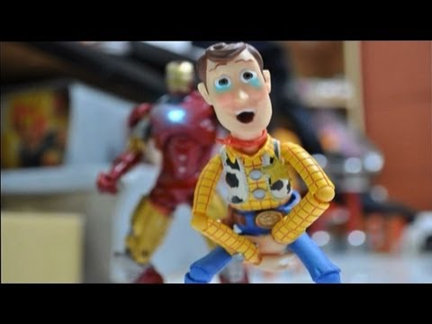 Iron man and Toy story stop motion : The Ambush 鋼鐵人與玩具總動員