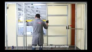 Openspace UNIKIT - Caixilho para porta de correr ( gesso cartonado / drywall )