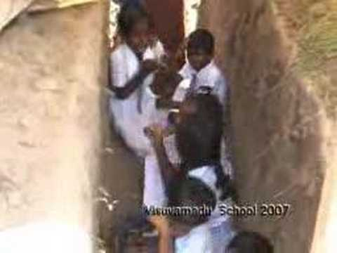 Srilankan Govt Kfir Jets Bombing School Children video