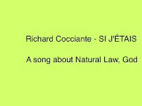 Paroles si j 39 tais richard cocciante - Richard cocciante le coup de soleil paroles ...