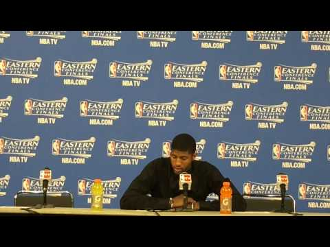 Pacers' Paul George Post Game Press Conference