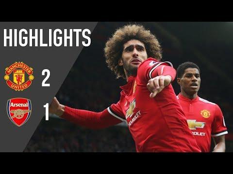 Manchester United 2-1 Arsenal   Highlights   Premier League thumbnail