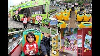 搭「臺南雙層巴士」小旅行,高視野遊覽台南,美食景點吃透透玩透透