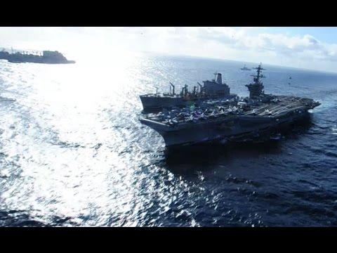 Carl Vinson Carrier Strike Group Checks in to U.S. 5th Fleet