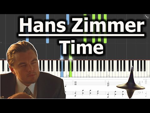 Hans Zimmer - Time (Piano Cover Tutorial with Sheet Music)