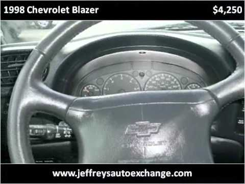 1998 Chevrolet Blazer Used Cars Scottsburg IN