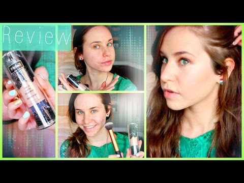 Kat Von D Lock It Tattoo Foundation Review & Demo: How to Cover Acne Scars