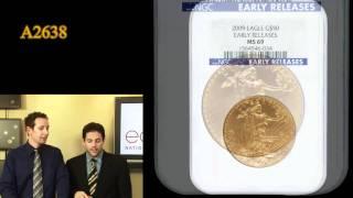 2009 $50 Gold Eagle