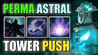 Permanent Dark Willow Shadow with Unlimited Diabolic Edict Push | Dota 2 Ability Draft