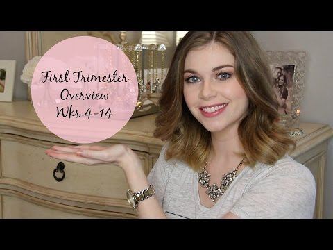 First Trimester- Morning Sickness, Heart Problems, Must Haves & More!
