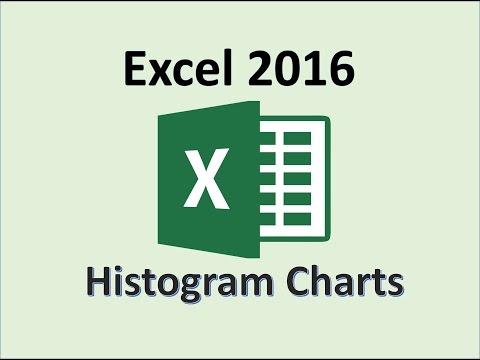 Excel 2016 - Histogram Chart Tutorial