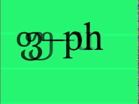 georgian alphabet pronunciation   YouTube