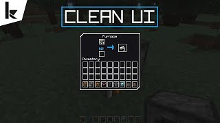Minecraft - Clean UI Resource Pack