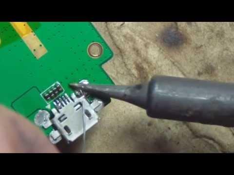Замена разъема micro usb на телефоне своими руками 98